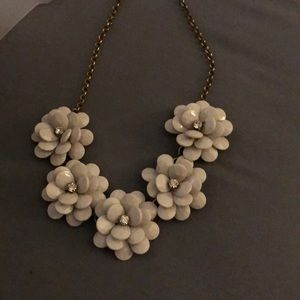 J.Crew flower necklace